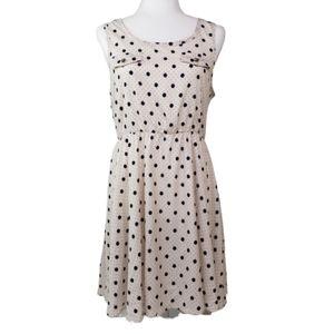 Double Zero Fit & Flare Polka Dot Dress   VGC